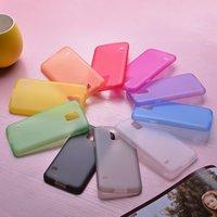 al por mayor cubierta delgada iphone5-Iphone 7 casos 0.3mm ultra delgado TPU PP claro cubra la piel de la cubierta para iPhone5 / 6/7 más S6 más barato precio DHL