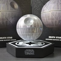 audio death - STARWARS Magnetic levitation force bluetooth speaker Death Star Wireless Speaker Intelligent bass cannon Creative home