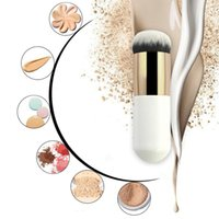 best powder bronzer - Best Quality Bold Handle Large Round Head Makeup Brushes foundation Brush blush Brush buffer Brush powder Brush bronzer Brush bb Cream