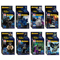 Wholesale Super Heroes Batman Minifigures Set cm High Frozen Building Blocks Sets Model Bricks Figure Toys For Children