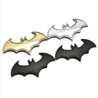 best motorcycle stickers - 2016 Best Selling D Metal Batman Style Car Sticker Motorcycle Emblem Badge Tail Decor Car Decals Stickers