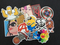 bicycle vinyl - 200PCS Random stickers for car sticker decal bicycle laptop sticker on car styling sticker bomb doodle motorcycle accessories