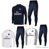 Wholesale Camisetas de futbol Real Madrid football training suit Best Quality soccer tracksuits training kits Madrid Jogging Skinny Pants