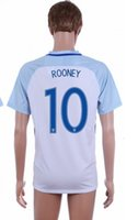 Wholesale Rooney Home Soccer Jersey Euro Cup Soccer Jersey White Cheap Soccer Jerseys for Men Thailand Quality Soccer Wears Customs Jerseys