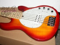 Wholesale Custom Bass HOT SALE customize strings Electric bass Cherry burst OEM available Musical instruments