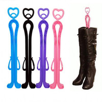 Wholesale 2016 Hot Sales Fashion Useful Tall Boots Support Colors Cheaper Boots Stand Holder Clip Extra Long Shoe Trees Boot Stretcher Hold Stand