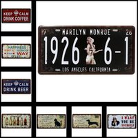 Wholesale Vintage Tin Sign Garage Bar Pub Home Wall Decor Retro Metal Art Poster x cm x inches