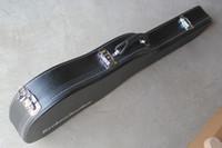 Wholesale Black Leather Hardcase Hard Shell Case Hard Case for Electric Guitar RIC electric Guitars