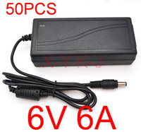 Wholesale 50PCS High quality IC solutions AC V V DC V A Switch power supply W LED adapter DC mm