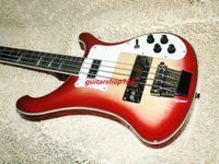 Wholesale Custom Strings Electric Bass Guitar Cherry burst Custom binding High quality