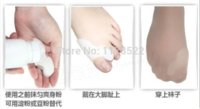 silicone foot products - 3Pair Silicone Foot Care Gel Toe Separators Alignment Bunion Pain Relief BoneThumb Ectropion Straightener Health Care Product