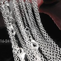 asian patterns - 1mm inch Fashion Genuine Authentic Solid Sterling Silver Curb O Pattern Necklace Chain Lobster Clasper