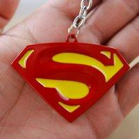 Wholesale Marvel Movie Series Hot Selling Superhero Marvel keychain The Avengers Steve Rogers Marvel Superhero Alloy Superhero Keychain