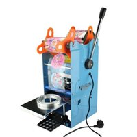 Wholesale 220V New Tall cup Sealing machine WY F for Bubble Tea Manual Fruit Juice