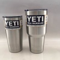 b lens - YETI OZ OZ Rambler Tumbler Lens Cup Mugs Vehicle Beer Mug Double Wall ML ML Stainless Steel Cups B