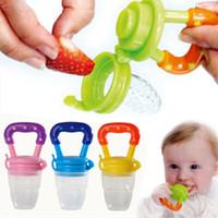 Wholesale Nipple Fresh Food Milk Feeder Feeding Tool Safe Baby Supplies Must tool S M L