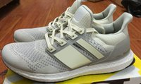 best fashion shoes - New Ultra boost Light tan Cream Men Running Shoes QS fashion Sneakers best boost Sports Shoes