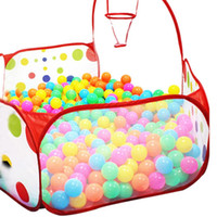 Wholesale Niosung Kids Tent Pop up Hexagon Polka Dot Children Carry Foldable Game Room Play Children Birthday gift Ourdoor Fun Sports