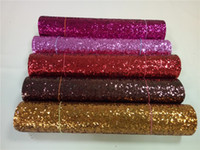 Wholesale JC Pack eco friendly chunky glitter fabric colorful glitter border use for cushions pelmets pillow decoration glitter wallpaper