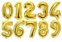 Wholesale Fashion Number Foil Balloon Inch Balloon to number Balloon Wedding Party Decor