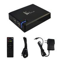 Wholesale New KI Plus Android TV Box K1 Plus Amlogic S905 Quad Core Android G G IPTV Smart TV Box KODI K H Media Player