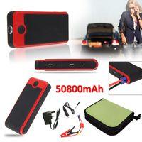 Wholesale 50800mAh Multi Functional Car Emergency Jump Starter Power Bank External Backup Battery Charger for Mobile Phone Tablet UK