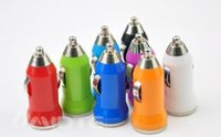 Wholesale 1PCS High quality USB car charger head adapter cigarette lighter adapter suitable for iphone samsung iPad