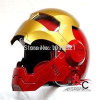 abs house - Iron helmet MASEI IRONMAN motorcycle helmet Genuine ABS material size s xxl Quality ABS material housing reinforced lenses