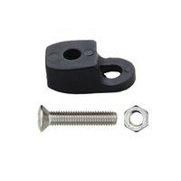 Wholesale 10 Kayak Canoe Fixed rope buckle Safety Deck Fitting Screws and nuts