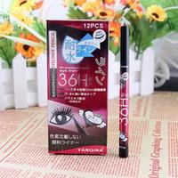 Wholesale 2015 New Eyeliner Makeup Yanqina Waterproof Eyeliner Precision Liquid Eyeliner h mm Not Blooming Long lasting Easy Dry