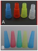 Finger Hookah Shisha test Drip Tip Cap Cover 510 plastique jetable Embouchure Mouth Conseils santé pour E-Hookah Water Pipe Pack Individuel