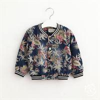baby jean jackets - New Baby Boys Denim Leaf Jackets Kids Boys Wash Blue Fashion Jean Outwear Boys Autumn Korean Coat Children s Clothing