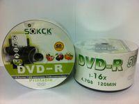 Wholesale Banana DVD R GB can print SOKCK disc blank disc