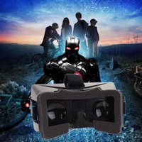 Wholesale New Universal Google Cardboard Version Virtual Reality VR D Video Glasses Movies Game for quot SmartPhone Head Mount