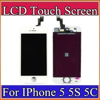 Cheap High quality LCD Display Touch Digitizer Complete Screen with Frame Full Assembly Replacement for iPhone 5 5S 5C A-LCD