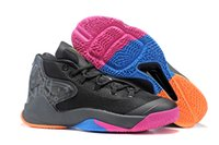 anthony for men - Melo M12 The Dungeon Men Basketball Shoes New Carmelo Anthony Black Colorful Cheap Sneakers for sale Size40