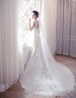 beaded veil patterns - 2016 hot sale charm bridal veil long pattern bridal veils m trailing Wedding accessories veil