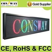 Wholesale and CE RoHS approved led messages display board with WIFI and size mm
