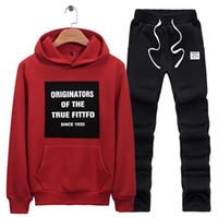 auto apparel - Men s Women s Sports Suit Tracksuits Fashion Slim Baseball Men s Women s Sweater Set Autumn Winter Jacket Coat Apparel