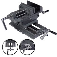 Wholesale New quot Cross Drill Press Vise X Y Clamp Machine Slide Metal Milling Way HD