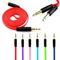 audio jack pro - Hot Style M FT Male to Male M M Jack mm Audio Stereo Aux Cable Cord Adapter Connector Pro universal for iPhone for iPad Tab