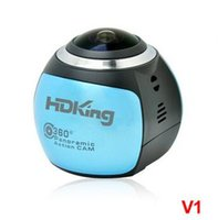 Wholesale Manufacturer direct panoramic camera WiFi Mini outdoor sports camera VR waterproof HD camera