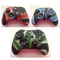 Wholesale For Xbox one Controller Colorful Camouflage Soft Gel Rubber Silicone Skin Case for XBOX ONE Controller Cover Case