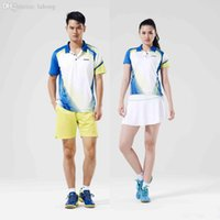 Wholesale Kawasaki Summer New Style Quick Dry Badminton T Shirt Breathable Sport Clothing For Men And Women Couple ST