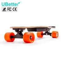 four wheel electric scooter - Hot New Electric Skateboard Four Wheels Hoverboard Self Balancing Smart Scooter Boards Hover Board w Remote Control Ubetter
