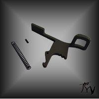 Wholesale Ambidextrous Oversized Tactical Steel Latch For Charging Handle