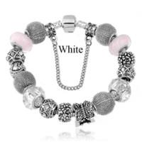 Wholesale New Bijoux Summer Bohemian Silver Plated Butterfly Charm Beads fits European Pandora Pulseras Women Bracelets Bangles