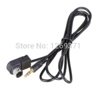 alpine car video - 3 mm stereo to ALPINE JVC Ai NET Aux car cable adapter for MP3 iPhone MA17 M7134 cable video jack rca