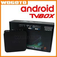 android internet tv box - 2016 Android TV Box Amlogic S805 Quad Core MXQ OTT TV Box Android Smart Media Player Set Top Box VS M8S Internet TV Box