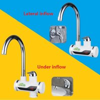 Wholesale BD3000W Digital Display Instant Hot Water Tap Tankless Electric Faucet Kitchen Faucet Water Heater